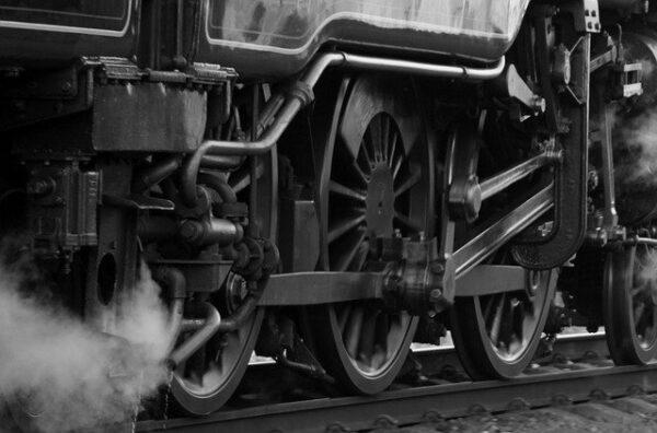 産業革命の象徴 蒸気機関車