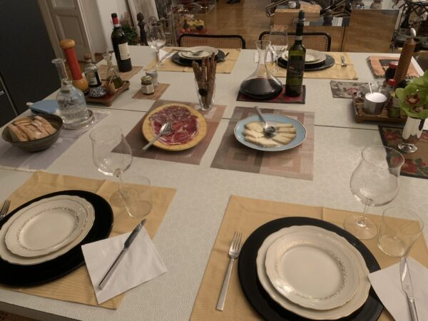 ホームディナーのおもてなし