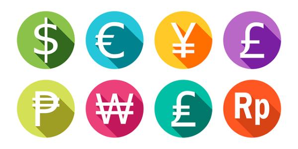 各国の通貨
