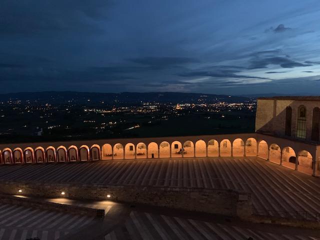 フランチェスコ聖堂からの夜景