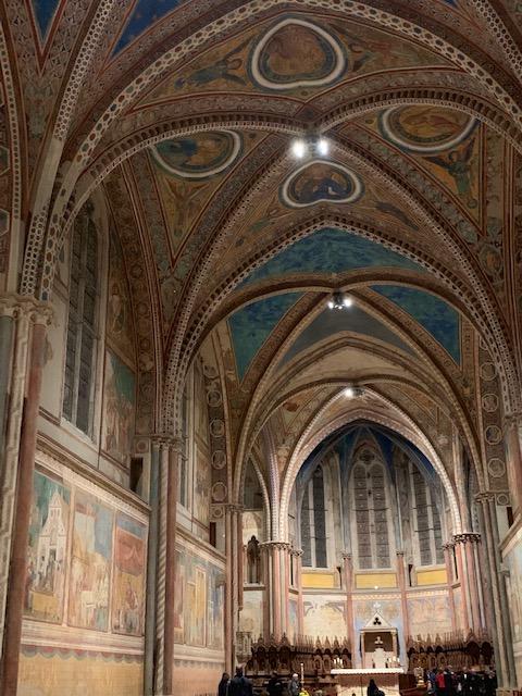 フランチェスコ聖堂の上堂