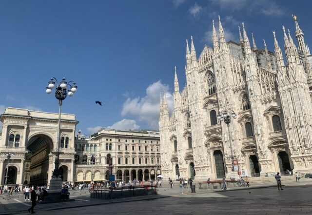 ミラノの街