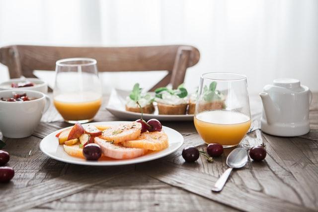 ヘルシー思考の朝食